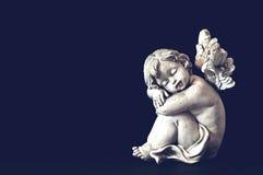 Mały sypialny anioł Zdjęcia Royalty Free