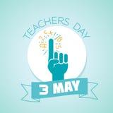 3 may teachers day Stock Photos