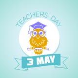 3 may teachers day Royalty Free Stock Photos