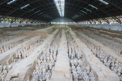 May-07-2017: The Terracotta Army , Warriors and Horses. Xian China. May-07-2017: The Terracotta Army , Warriors and Horses. Close to the Qin Shi Huang`s stock photos