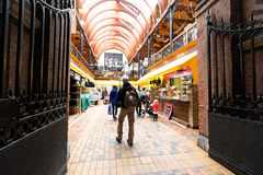 May 20th, 2017, Cork, Ireland - English Market, a municipal food market in the centre of Cork Royalty Free Stock Images