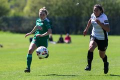 Rachael O`Regan at the Women`s National League game: Cork City FC vs Galway WFC. May 12th, 2019, Cork, Ireland - Rachael O`Regan at the Women`s National League stock photo