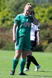 Saoirse Noonan at the Women`s National League game: Cork City FC vs Galway WFC. May 12th, 2019, Cork, Ireland - Saoirse Noonan at the Women`s National League royalty free stock image