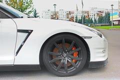 5 May 2017; Ukraine, Kiev. Nissan GT-R stock photos