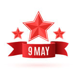 May 9. Victory day background. Stock Photography