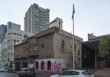 23 May 2017. Vintage meets modernity. Tel Aviv. Israel. Vintage meets modernity. Tel Aviv. Israel stock photography