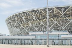 May 23, 2018 Volgograd, Russia. New football stadium Volgograd Arena. May 23, 2018 Volgograd, Russia. New football stadium Volgograd Arena Day Stock Image