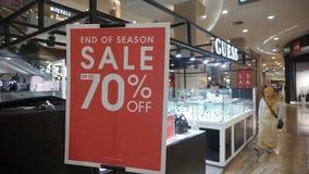 Eid discount before Eid al-Fitr in Hartono Mall Yogyakarta royalty free stock images