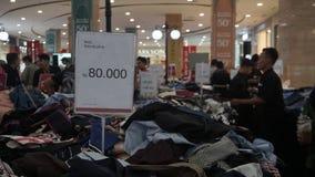 Eid discount before Eid al-Fitr in Hartono Mall Yogyakarta royalty free stock photos