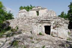 maya Μεξικό ναός yucatan Στοκ Εικόνες