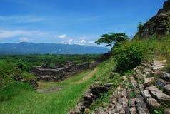 maya Мексика губит tonina Стоковое Изображение