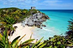 maya Мексика губит tulum Стоковые Фото