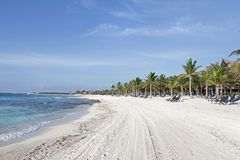 maya Мексика riviera пляжа стоковое фото