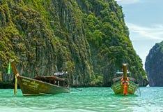 maya Таиланд залива Стоковые Фото