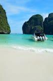 maya Таиланд пляжа залива Стоковая Фотография