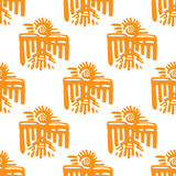 Maya art seamless pattern Royalty Free Stock Photos