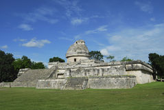Maya astronomical observatory Stock Photo