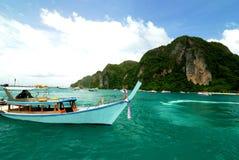 Maya Baai, Phi Ko Phi Royalty-vrije Stock Foto's