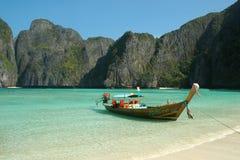 Maya Baai, Thailand Royalty-vrije Stock Foto
