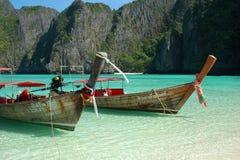 Maya Baai, Thailand Stock Foto's