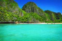 Maya Bay Stock Image