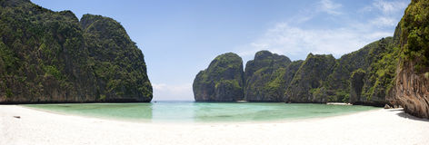 Maya bay. Royalty Free Stock Photography