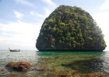 Maya Bay. Back view of Maya Bay, Phi Phi Royalty Free Stock Photography