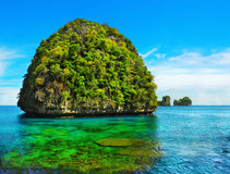 Maya Bay. View of Maya Bay, Phi Phi island, Thailand Royalty Free Stock Images