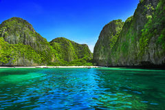 Maya Bay Royalty Free Stock Photos