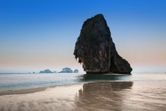 Maya bay or Ao Maya, Krabi, The most beautiful beach in Thailand Stock Images