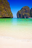 Maya bay beach on Phi Phi island, Thailand Stock Images