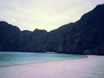 Maya Bay in the evening Royalty Free Stock Image