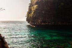 Maya bay islet Royalty Free Stock Photo