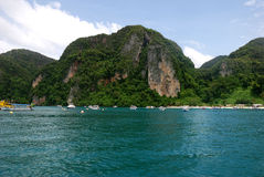 Maya Bay and Ko Phi Phi Stock Photography