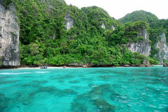 Maya Bay, Ko Phi Phi Royalty Free Stock Photo