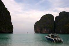Maya Bay, Koh Phi Phi, Tailandia Fotografie Stock