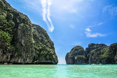 Maya Bay, Koh Phi Phi, Thailand. The place to be. Royalty Free Stock Photography