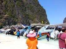 Maya Bay Krabi Thailand Royalty Free Stock Photography