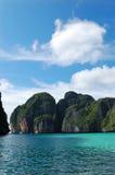 Maya Bay lagoon at Phi Phi island Royalty Free Stock Image