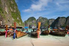 Maya Bay - Phi Phi Island Photographie stock