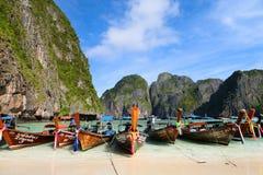 Maya Bay - Phi Phi Island Image libre de droits