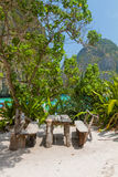 Maya bay of Phi-Phi island Stock Photos