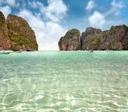 Maya bay of Phi-Phi island Royalty Free Stock Photography