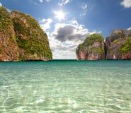 Maya bay of Phi-Phi island Royalty Free Stock Image