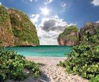 Maya bay of Phi-Phi island Stock Photography