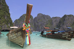 Maya Bay Phi Phi Island Thailand Lizenzfreies Stockfoto