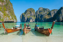 Maya Bay, Phi Phi Islands Photos libres de droits