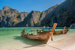 Maya Bay, Phi Phi Islands Photo stock