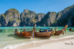 Maya Bay, Phi Phi Islands Image libre de droits