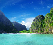 Maya bay Phi phi leh Stock Photos